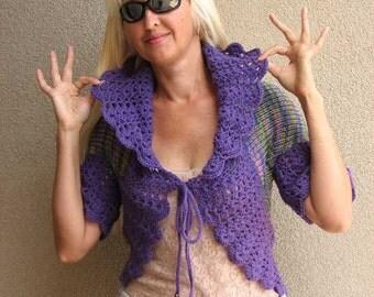 Bolero. Purple