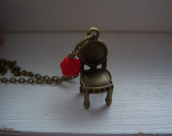 Chair Necklace - Free Gift With Purchase