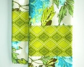 SALE 2 Amy Butler Soul Blossom Fabric Hand Towels were 22.00