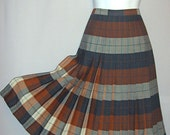 Reversible Orange Highland Queen Kilt (Size L)