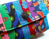African Clutch Style Bag