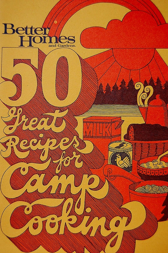 Vintage Retro Better Homes and Gardens Camp Cooking 1970s