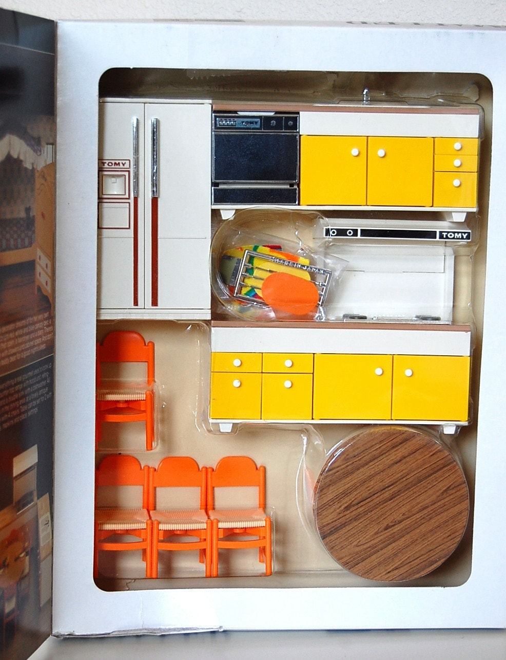 Kitchen Dollhouse Furniture Watch More Like Retro Dollhouse Furniture