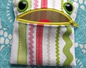 Recycled Monster Coin Purse