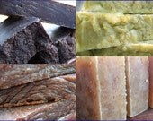 Pick 4 Handmade Soaps - Soap Bundle - Hot Process Soaps
