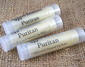 Puritan Lip Balm - All Natural Lip Balm - Unflavored, Unscented