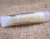 Cafe Au Lait Natural Lip Balm - Beeswax and Cocoa Butter