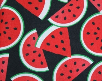 Watermelon Cloth Napkins 15 x 15  set of 4 Dinner Napkins