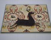 Elegant Style Deer Christmas Card
