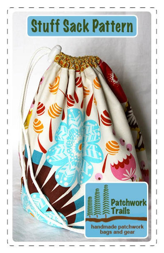 Stuff Sack PDF Sewing Pattern