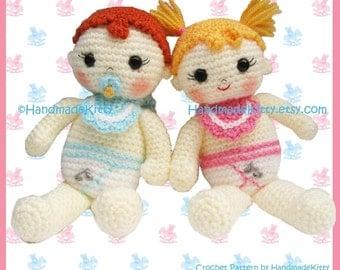 Amigurumi Russian Doll Pattern : Russian matryoshka amigurumi babushka dolls pdf crochet