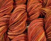 Chunky Weight Wool/Alpaca Yarn, Hand Dyed - Bricks