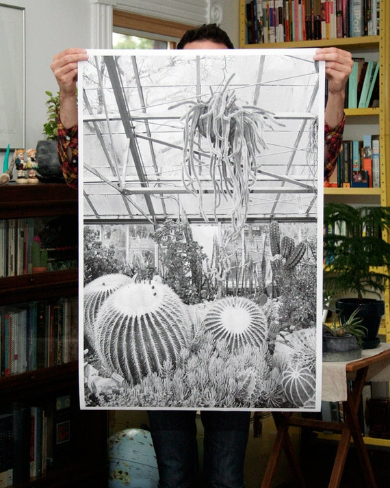 15% OFF SUMMER SALE - Greenhouse - 24x36 Plotter Poster
