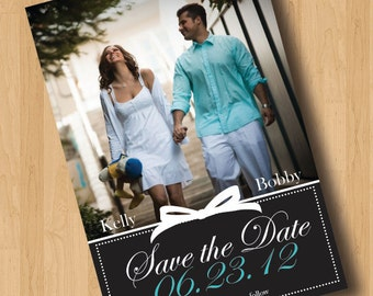 Tiffany's Blue Box - Save the Date