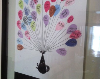 Our Baby Balloon Bundle - Baby Shower Guestbook - Digital Design