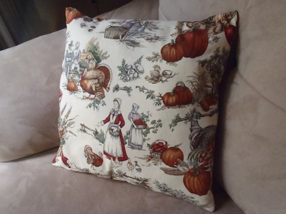 Pilgrim Harvest Pillow