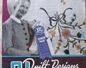 Quilt Pattern Book 31 Quilt Designs  PDF Instant Download