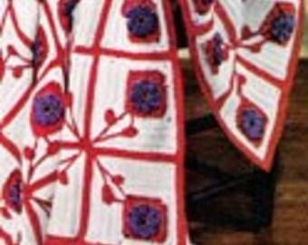 Pennsylvania Dutch Crochet Afghan Pattern