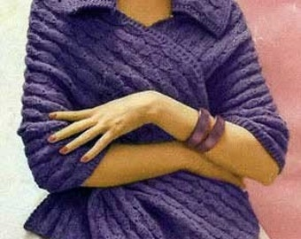 Knitted Shawl Knitting Pattern PDF Instant Download