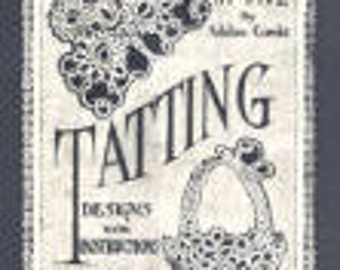 5 Vintage Tatting Pattern Books Plus 65 Bonus Tatting Patterns On CD