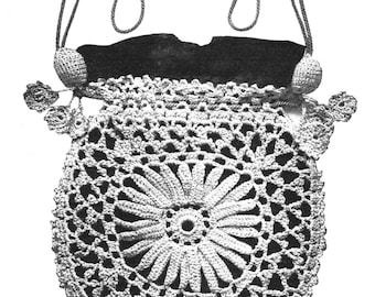 Purse Crochet Pattern Princess Louise Crochet Bag or Opera Bag Pattern