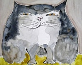Cat Note Cards - Laptop Cat