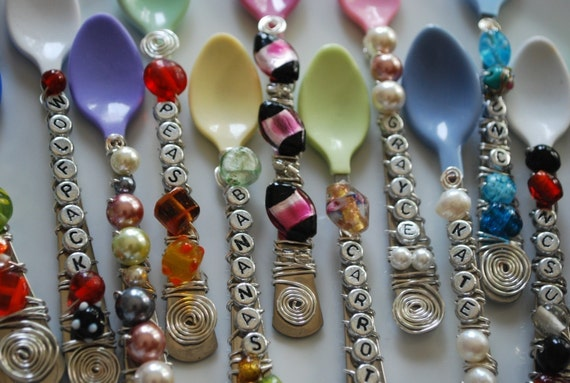 Personalized Baby Spoons (SINGLE)