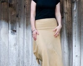 Sew the Chloe knit skirt, sewing instuctions and PDF tutorial on Pattern Making