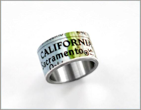 California map ring