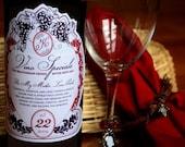 Wine Label PDF - Print Your Own