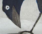 Winter Crow (Original Print)
