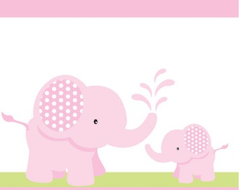 pink elephants baby shower baby ducky pink diy baby shower or birthday