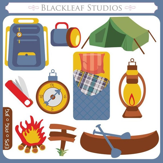 Campers paradise original outdoors adventure camping gear - Clipart bricolage ...