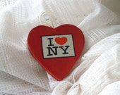 I Heart New York Ornament