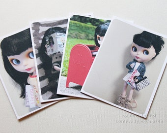 blythe photo cards