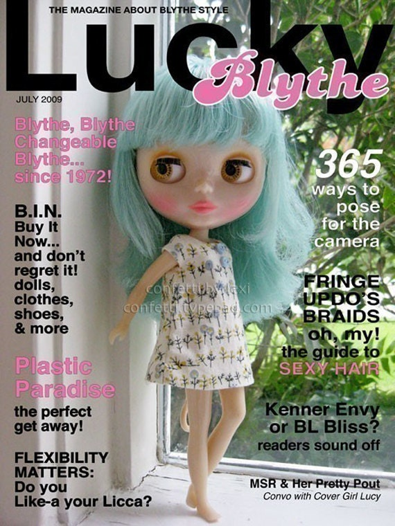 lucky-blythe, single issue