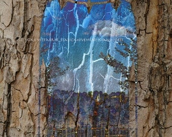BEYOND the TREES Abstract OriginalColor Art Photograph