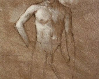 Male Figure Study - original   (FD 10)
