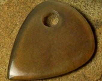 handmade Blond Horn Guitar Pick