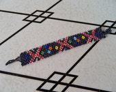 Vintage Navajo-Style Beaded Bracelet
