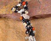 Memento Mori Enchanted Mourning Key Necklace