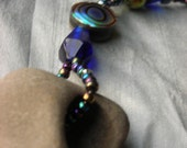 Deep Sea Rock and Abalone Necklace
