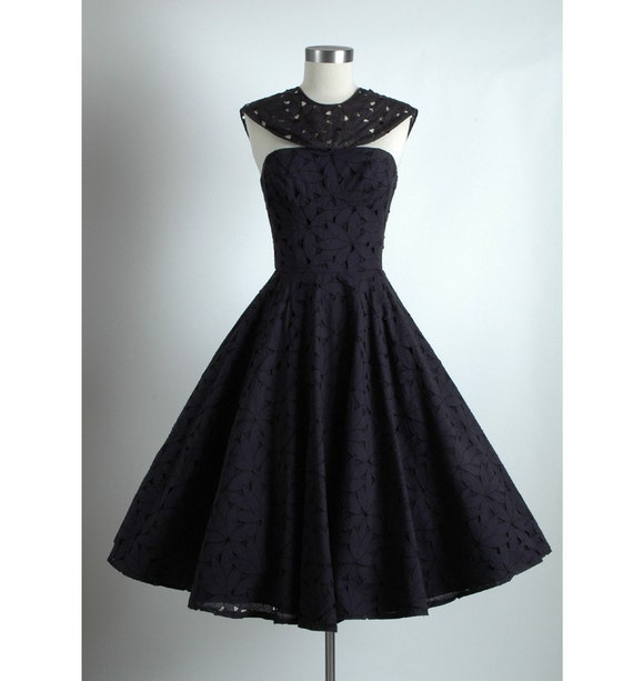 Vvv Reserved Vvv 1950 S Vintage Grenelle Estevez Black