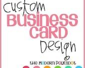 Business Card Custom Design