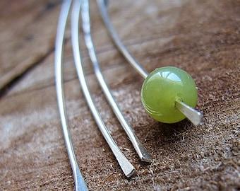 Hand Hammered Sterling Silver Sticks 20 ga for dangle earrings making, Findings Supplies / Head Pins / Eye Pins / Earrings Findings