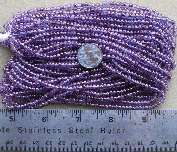 Ornela seed beads, lumi purple, 6/0
