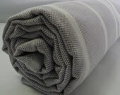 Summer Towel...Turkish Bath Towel...PESHTEMAL(108) PURPLE-WHITE