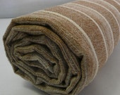 Turkish Bath Towel...PESHTEMAL BROWN