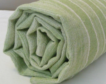 Green Turkish Bath Towel...PESHTEMAL