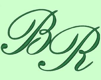 ELEGANCE - 207 Machine Embroidery Font Designs Instant Download 4x4 5x7 hoop (AzEB)